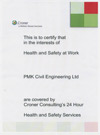 Click here to view Health & Safety Certificate