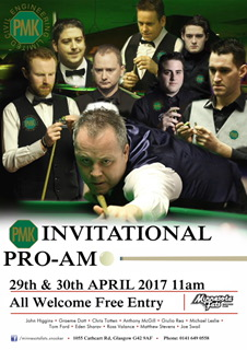 Happens. can Amateur snooker tournaments valuable